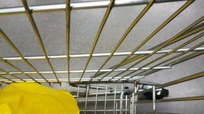 τρισδιάστατες παραγμένες κάρρο αγορές εικόνας Στοκ Εικόνες