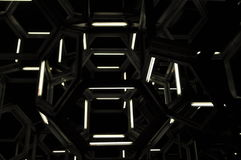 τρισδιάστατες geomatric μορφές Στοκ φωτογραφία με δικαίωμα ελεύθερης χρήσης