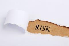 τρισδιάστατη έννοια ανασκόπησης που δίνεται το λευκό κινδύνου στοκ φωτογραφία με δικαίωμα ελεύθερης χρήσης