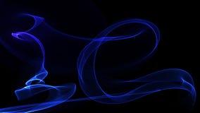 τρισδιάστατη αγνότητα εικόνας υποβάθρου απεικόνισης της μπλε ενέργειας Στοκ εικόνα με δικαίωμα ελεύθερης χρήσης