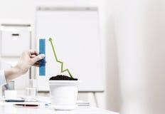 τρισδιάστατη απεικόνιση ανάπτυξης έννοιας ανασκόπησης που απομονώνεται κατεστημένος άσπρος Στοκ Εικόνες