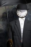 Τρισδιάστατη απεικόνιση ατόμων ρολογιών Στοκ εικόνα με δικαίωμα ελεύθερης χρήσης