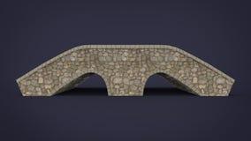 τρισδιάστατη απεικόνιση της γέφυρας βράχου Στοκ Φωτογραφίες
