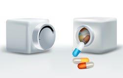 Pillbox Στοκ Φωτογραφίες