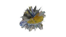 τρισδιάστατη απεικόνιση των μανιταριών, βακτηρίδια, ιοί στην ιατρική Στοκ Εικόνα