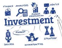 τρισδιάστατη απομονωμένη επένδυση απόδοση έννοιας απεικόνιση αποθεμάτων