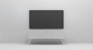 Τρισδιάστατη απόδοση επίδειξης TV Στοκ Εικόνες