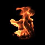 Ταραχώδης φλόγα Στοκ εικόνες με δικαίωμα ελεύθερης χρήσης