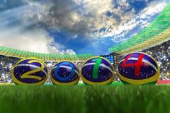 Παγκόσμιο Κύπελλο 2014 Στοκ Φωτογραφίες