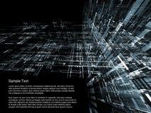 τρισδιάστατη αρχιτεκτον& Στοκ Εικόνες