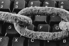 τρισδιάστατη ασφάλεια μηνυτόρων απεικόνισης υπολογιστών Στοκ φωτογραφίες με δικαίωμα ελεύθερης χρήσης