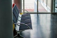 τρισδιάστατη εικόνα αερολιμένων που δίνεται τα καθίσματα Στοκ Φωτογραφίες