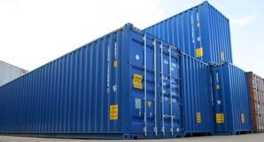 τρισδιάστατη εικόνα εμπορευματοκιβωτίων φορτίου που δίνεται Στοκ εικόνες με δικαίωμα ελεύθερης χρήσης