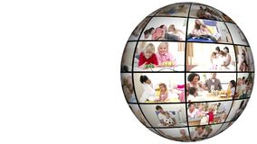 τρισδιάστατη ζωτικότητα των οικογενειακών ζητημάτων απόθεμα βίντεο