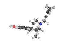 τρισδιάστατη δομή Pentalgine, επίσης γνωστή ως νάτριο Metamizole, COM Στοκ Εικόνες