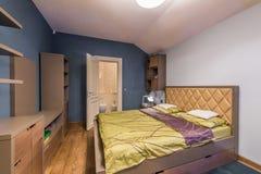 τρισδιάστατη περιβαλλοντική εσωτερική αστραπή κρεβατοκάμαρων που δίνεται Στοκ εικόνες με δικαίωμα ελεύθερης χρήσης