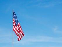 τρισδιάστατη σημαία ΗΠΑ Στοκ εικόνες με δικαίωμα ελεύθερης χρήσης