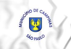 τρισδιάστατη σημαία του Καμπίνας & x28 Σάο Πάολο state& x29 , Βραζιλία ελεύθερη απεικόνιση δικαιώματος