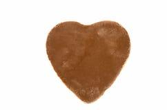τρισδιάστατη σοκολάτας απεικόνιση καρδιών σχεδίου γραφική που δίνεται Στοκ εικόνα με δικαίωμα ελεύθερης χρήσης