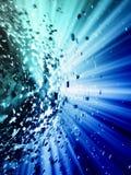 τρισδιάστατη τεχνολογί&alpha Στοκ εικόνες με δικαίωμα ελεύθερης χρήσης