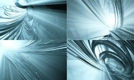 τρισδιάστατη τεχνολογί&alpha Στοκ Φωτογραφίες