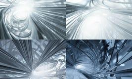 τρισδιάστατη τεχνολογί&alpha Στοκ εικόνα με δικαίωμα ελεύθερης χρήσης