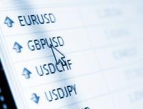 τρισδιάστατη όμορφη απεικόνιση τρία αριθμού ανταλλαγής νομίσματος διαστατική ευρο- πολύ Στοκ Εικόνα