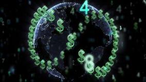 τρισδιάστατη όμορφη διαστατική απεικόνιση τρία νομίσματος πολύ κόσμος απεικόνιση αποθεμάτων