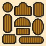 τρισδιάστατη όμορφη διαστατική απεικόνιση τρία πλαισίων αριθμού πολύ εκλεκτής ποιότητας Στοκ φωτογραφίες με δικαίωμα ελεύθερης χρήσης