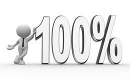 100% Στοκ Εικόνα