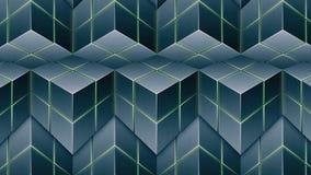τρισδιάστατοι κύβοι Στοκ φωτογραφία με δικαίωμα ελεύθερης χρήσης