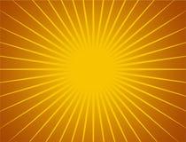 τρισδιάστατος ήλιος ακ&tau Στοκ εικόνα με δικαίωμα ελεύθερης χρήσης