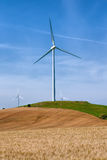τρισδιάστατος απομονωμένος απεικόνιση αέρας ισχύος Στοκ εικόνα με δικαίωμα ελεύθερης χρήσης