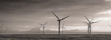 τρισδιάστατος απομονωμένος απεικόνιση αέρας ισχύος Στοκ Φωτογραφίες
