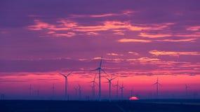 τρισδιάστατος απομονωμένος απεικόνιση αέρας ισχύος Στοκ Εικόνες