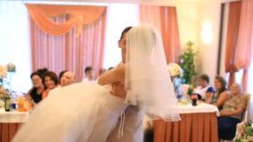 τρισδιάστατος αφηρημένος πρότυπος γάμος χορού φιλμ μικρού μήκους