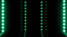 τρισδιάστατος ΒΡΟΧΟΣ σκηνικής οριζόντιος ανίχνευσης λαμπών φωτός 4K πράσινος φιλμ μικρού μήκους