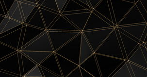 τρισδιάστατος βρόχος υποβάθρου κινήσεων επιφάνειας πολυγώνων δικτυωτού πλέγματος αφηρημένος γεωμετρικός 4k απεικόνιση αποθεμάτων