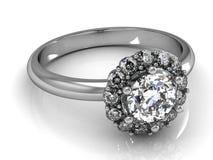τρισδιάστατος γάμος δαχτυλιδιών ομορφιάς Στοκ εικόνες με δικαίωμα ελεύθερης χρήσης