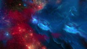 τρισδιάστατος γαλαξίας 01 απόθεμα βίντεο