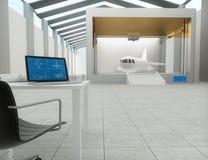 τρισδιάστατος εκτυπωτής, τυπώνοντας αεροπλάνο Στοκ φωτογραφία με δικαίωμα ελεύθερης χρήσης