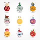 τρισδιάστατος ετήσιος χειμώνας πώλησης εκπτώσεων Χριστουγέννων Στοκ Εικόνες