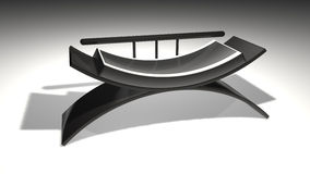 τρισδιάστατος καναπές Στοκ φωτογραφία με δικαίωμα ελεύθερης χρήσης