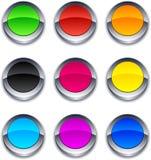 τρισδιάστατος κύκλος κ&o Στοκ φωτογραφία με δικαίωμα ελεύθερης χρήσης