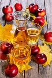 τρισδιάστατος μήλων φυσικός διαφανής χυμού εικόνας γυαλιού τροφίμων πτώσης μήλων εννοιολογικός Στοκ εικόνες με δικαίωμα ελεύθερης χρήσης