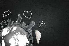 τρισδιάστατος μηχανισμός εργαλείων σύνδεσης έννοιας Στοκ εικόνα με δικαίωμα ελεύθερης χρήσης