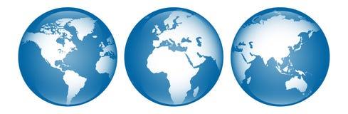 τρισδιάστατος-μπλε στοκ φωτογραφίες με δικαίωμα ελεύθερης χρήσης