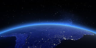 τρισδιάστατος νότος τρία απεικόνισης αριθμού της Αμερικής όμορφος διαστατικός πολύ Στοκ φωτογραφία με δικαίωμα ελεύθερης χρήσης