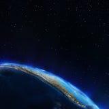 τρισδιάστατος νότος τρία απεικόνισης αριθμού της Αμερικής όμορφος διαστατικός πολύ Στοκ Φωτογραφία