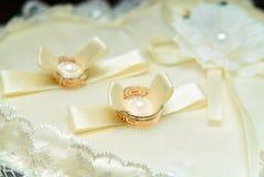 τρισδιάστατος παραγμένος γάμος δαχτυλιδιών εικόνας Στοκ Φωτογραφία